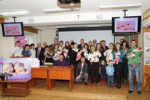 Spotkanie dzieci urodzonych na przełomie roku 2013/2014